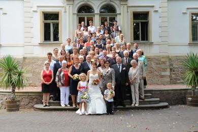 Hochzeit 2 Frauen Gruppe